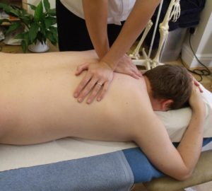 Massage therapy by Physiotherapist Nicola Hodgson