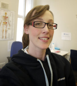 Nicola Hodgson - Physiotherapist