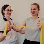 Physiotherapy session from Nicola Hodgson in Stockport UK.